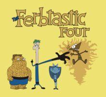 The Ferbtastic Four One Piece - Short Sleeve