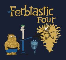 The Ferbtastic Four Kids Clothes