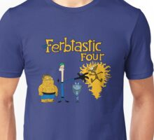 The Ferbtastic Four Unisex T-Shirt