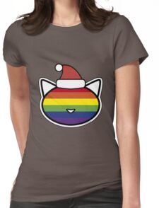 Christmas Peace Womens Fitted T-Shirt