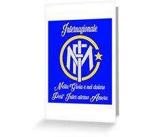 Intermilan - Forza inter Greeting Card
