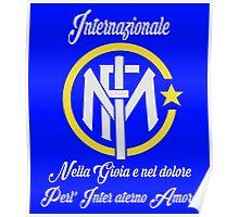 Intermilan - Forza inter Poster