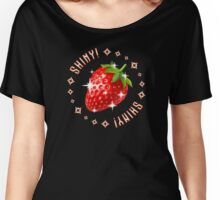 Shiny Strawberry Women's Relaxed Fit T-Shirt