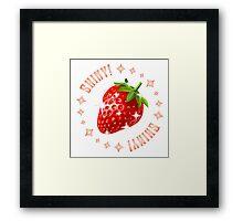 Shiny Strawberry Framed Print