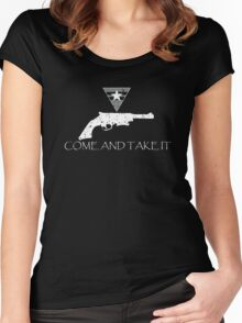 Come and Take It Women's Fitted Scoop T-Shirt