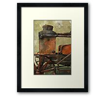 Bodensee tractor Framed Print