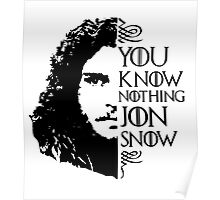 YOU KNOW NOTHING Poster