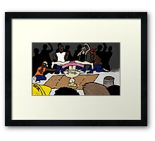 Break-dance Ballerina  Framed Print