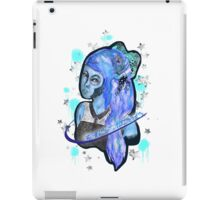 Blue Bow iPad Case/Skin