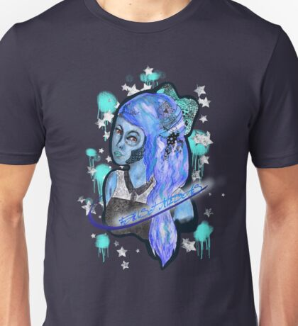 Blue Bow Unisex T-Shirt
