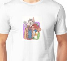 I'm with the leader of the pack Unisex T-Shirt