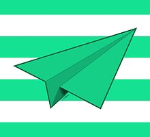 Paper Airplane 42 by YoPedro