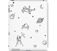 Doodle Space Inverted iPad Case/Skin