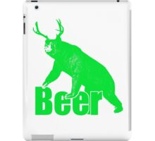 Beer fun green iPad Case/Skin