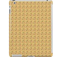 Christmas pattern with candle and holly iPad Case/Skin