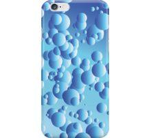 Lava Lamp Blue iPhone Case/Skin
