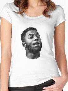 Isaiah Rashad  Women's Fitted Scoop T-Shirt