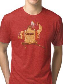 Nunchucks or Nothing Tri-blend T-Shirt