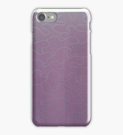 Deep Purple screen prints iPhone Case/Skin