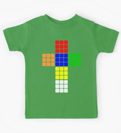 Rubik large Kids Tee