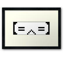 Worlds Kaomoji Google Chrome Version (Porter Robinson) Framed Print