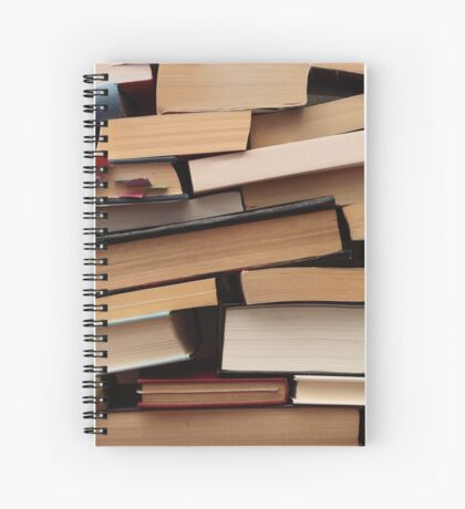 Stacked Books Spiral Notebook