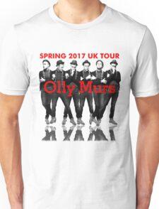 OLLY MURS SPRING TOUR 2017 Unisex T-Shirt