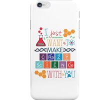 Crazy Science - Orphan Black iPhone Case/Skin