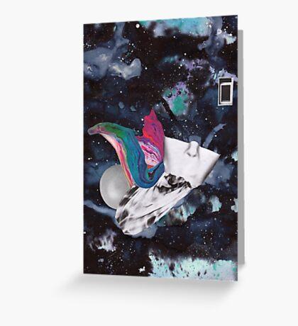 Scraps of Poetry 2 Greeting Card