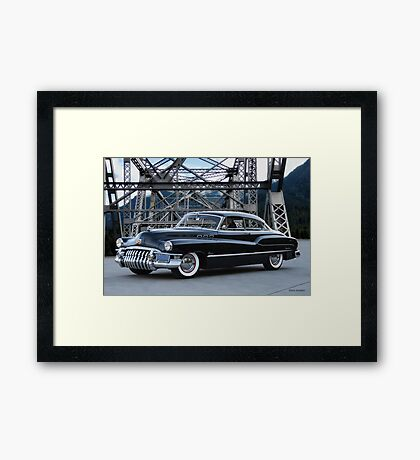 1950 Buick Super Riviera Framed Print
