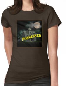 Haunted Mansion - Repossessed Womens Fitted T-Shirt