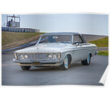 1963 Plymouth Fury Convertible Poster