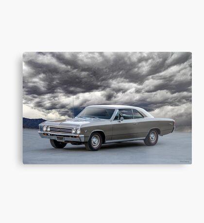 1967 Chevelle Super Sport SS396 Metal Print