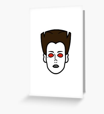 Zuul (Ghostbusters) Greeting Card