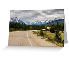 Icefields Parkway 2 Greeting Card