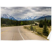 Icefields Parkway 2 Poster