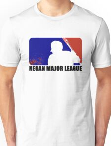 Negan Major League - White Unisex T-Shirt