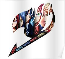 Fairy Tail Group - Anime Logo Poster