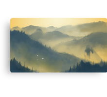 The Forest Giant Canvas Print