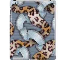 Leopards'n Lace - Blue iPad Case/Skin