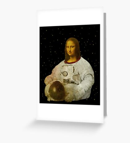 astronaut Lisa Greeting Card