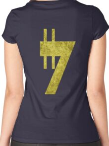 Credit sign Women's Fitted Scoop T-Shirt