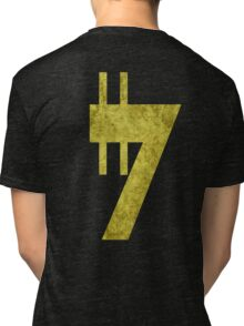Credit sign Tri-blend T-Shirt