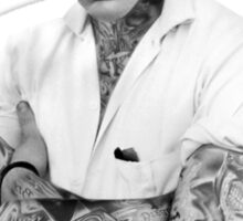 Elvis Presley Tattoo Rockabilly Vintage Sticker