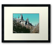 Hogwarts - Front View Framed Print