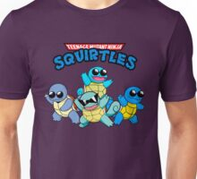 Teenage Ninja Mutant Squirtles ss Unisex T-Shirt
