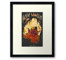 Alien Worlds Framed Print