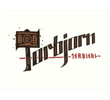 Torbjorn Art Print