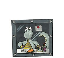 dinosaur in disguise  Photographic Print
