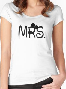 Mrs. Minnie Women's Fitted Scoop T-Shirt